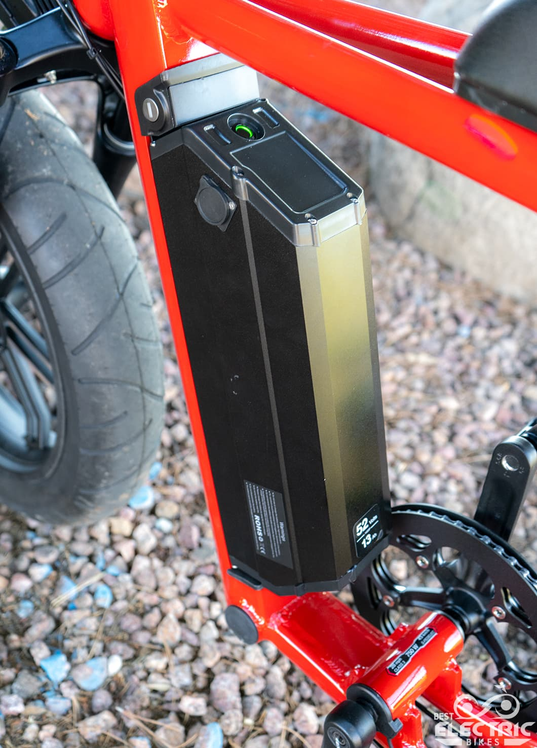 Juiced Bikes City Scrambler 2019 battery