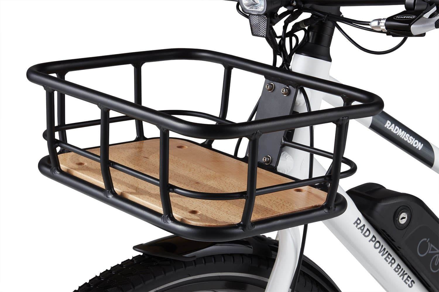 Best Electric Bike Basket Accessory Picture