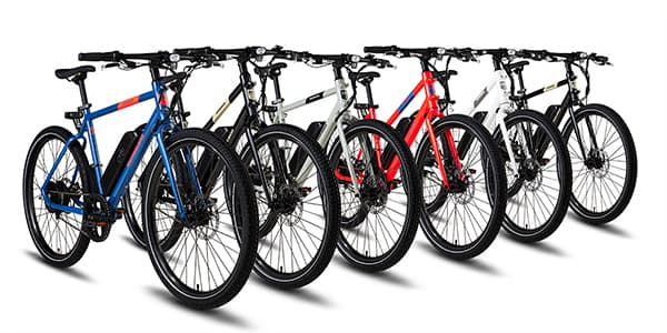 Best Electric Bike RadMission frames and colors