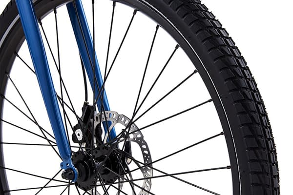 Best Electric Bike RadMission wheels tires tread