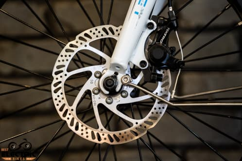 Mechanical Disk Brake Caliper and Rotor