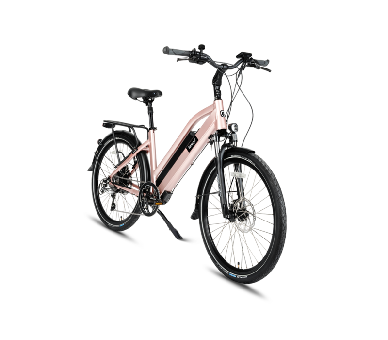 Amego Infinite Plus Pink Frame Side Overview
