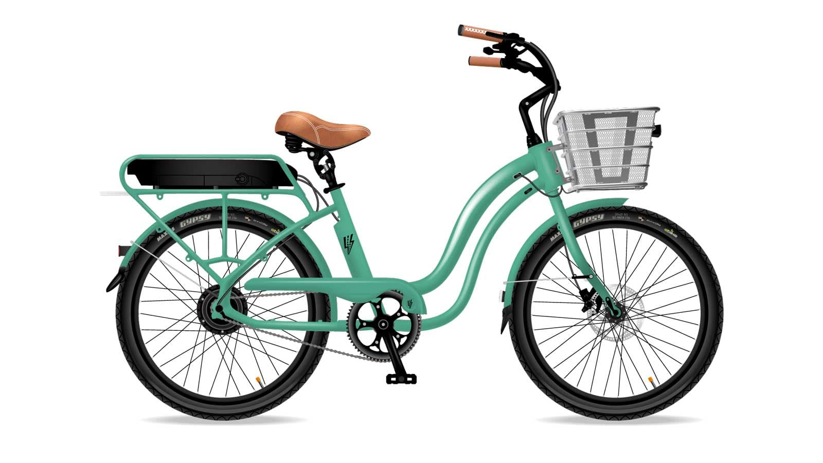 Electric Bike Company Model S Frame Green