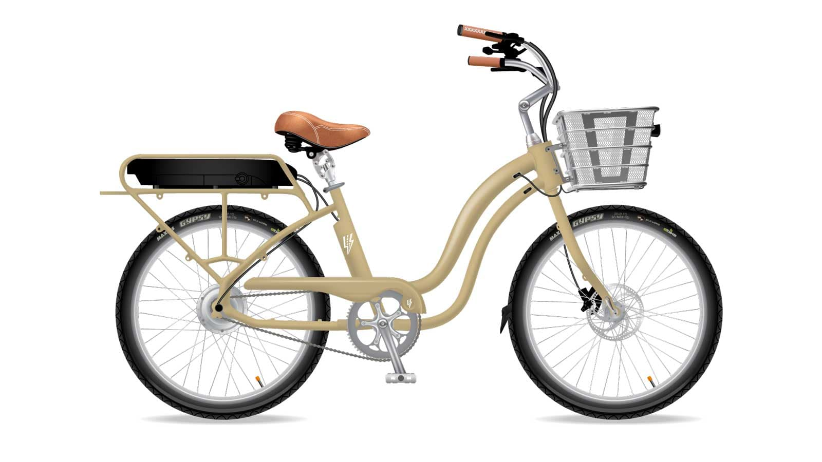 Electric Bike Company Model S Frame Olive