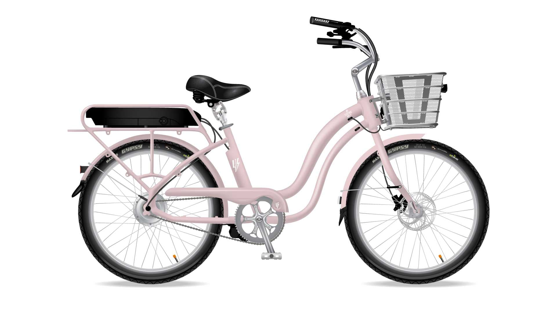 Electric Bike Company Model S Frame Pink