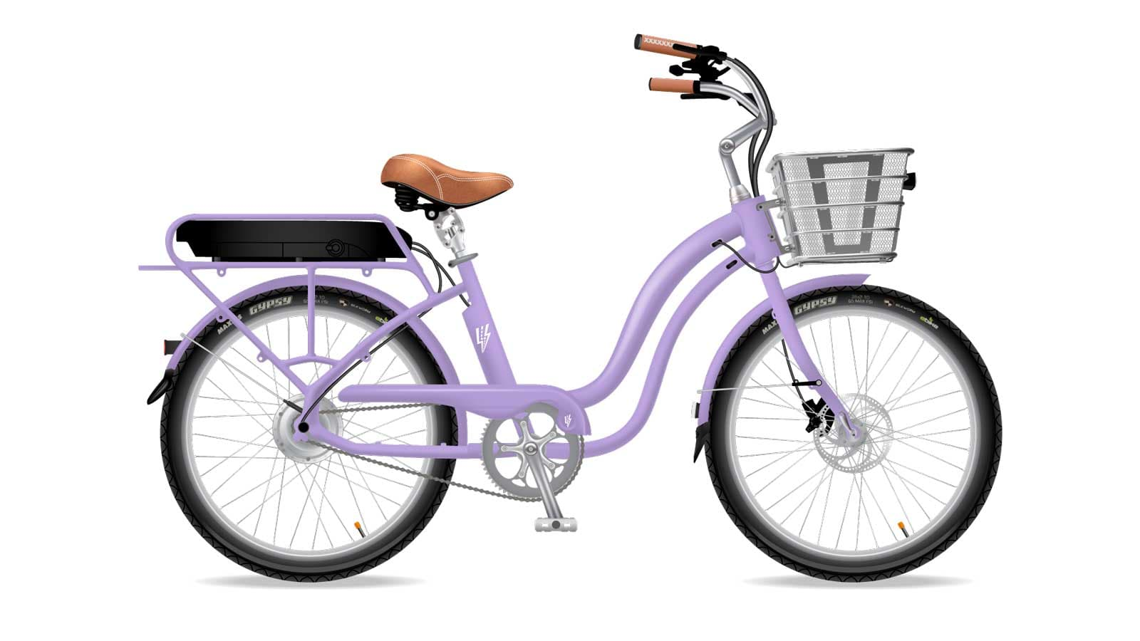Electric Bike Company Model S Frame Purple