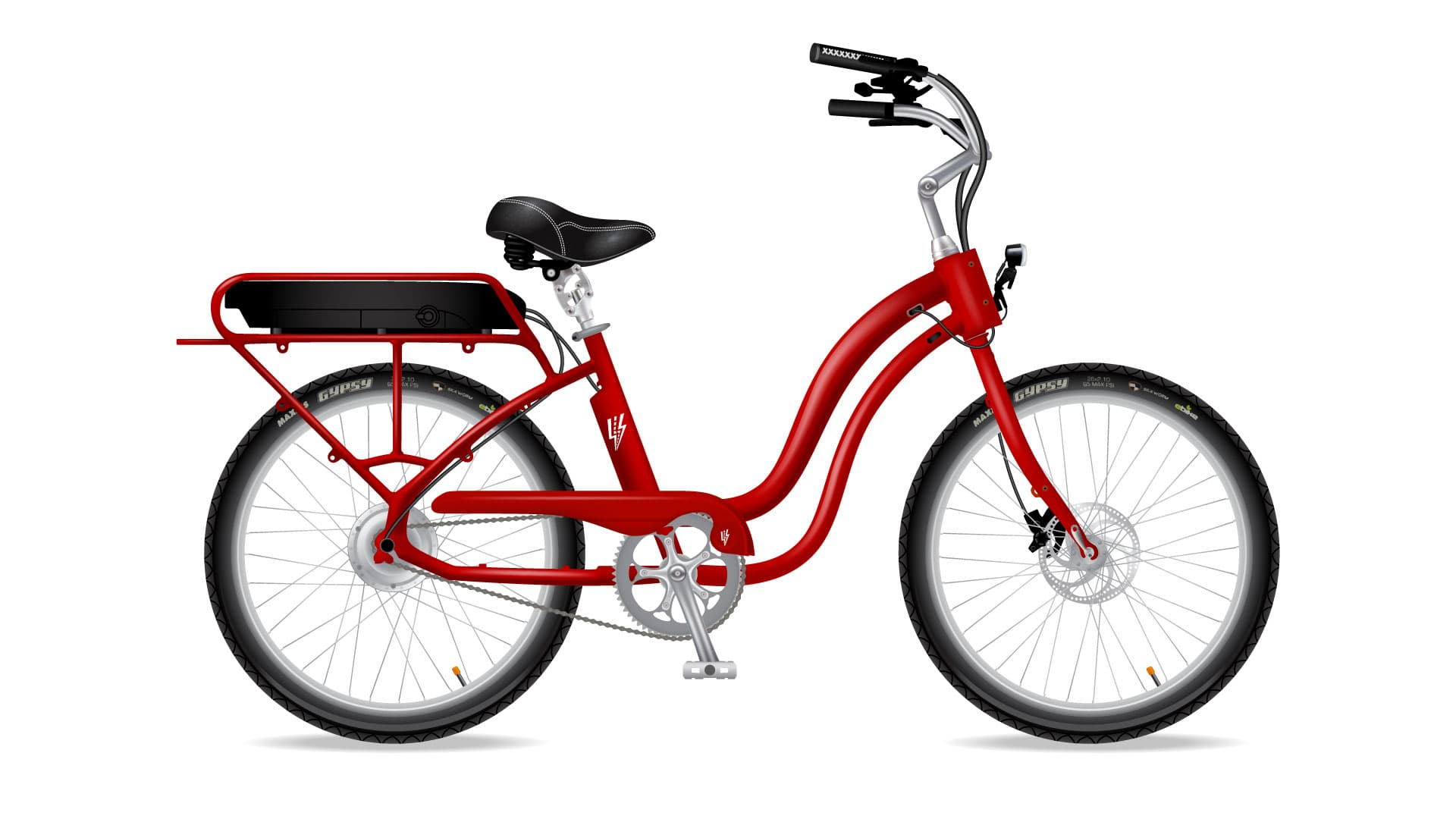 Electric Bike Company Model S Frame Red