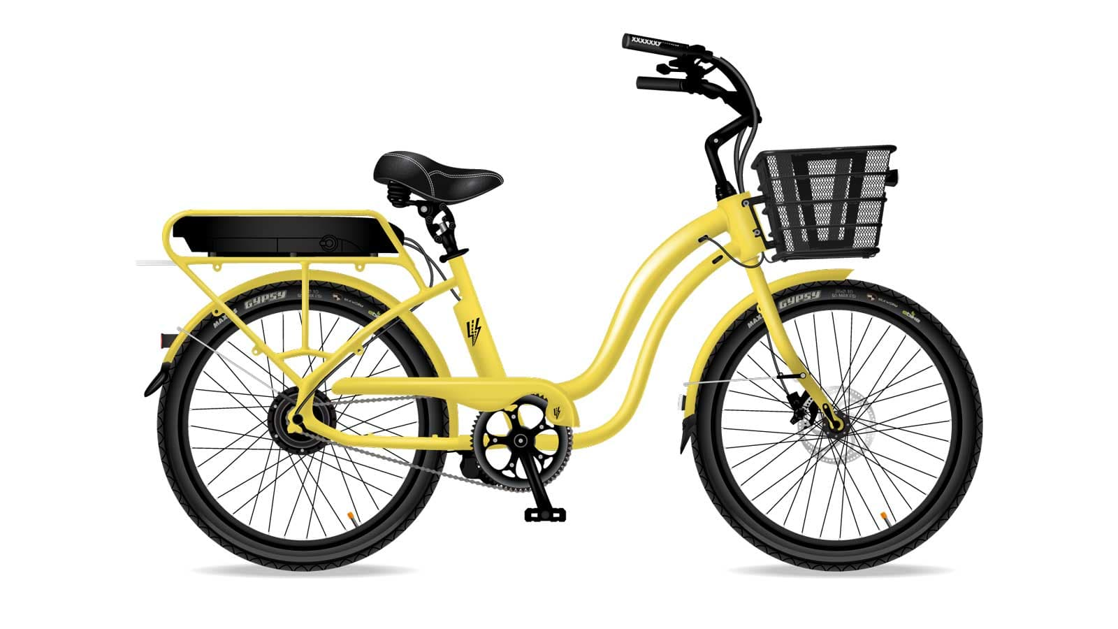 Electric Bike Company Model S Frame Yellow