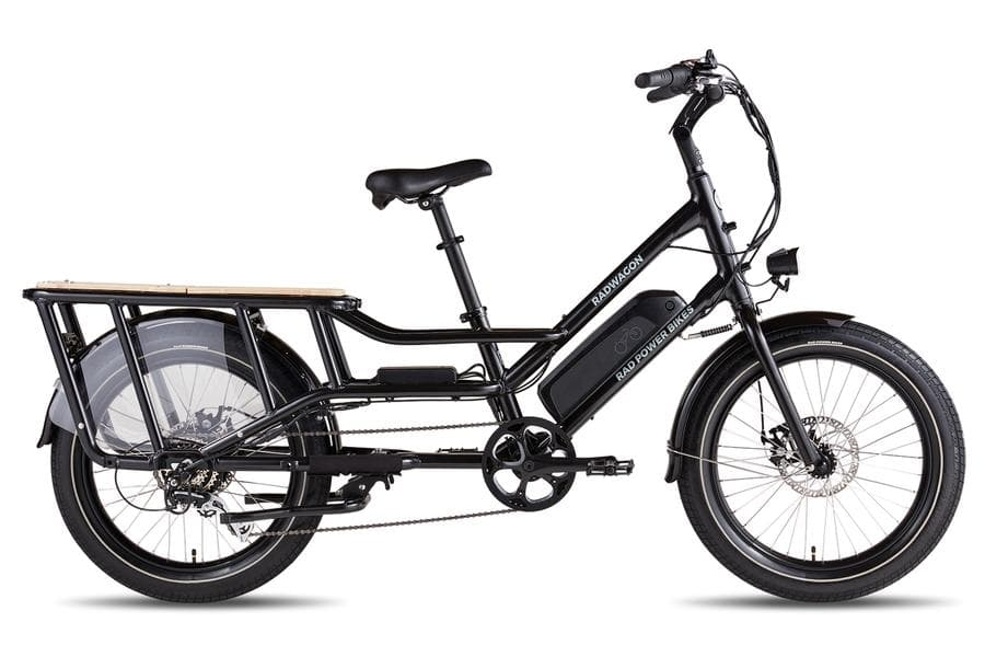 RadWagon4 Rad Power Bikes Main Black Frame