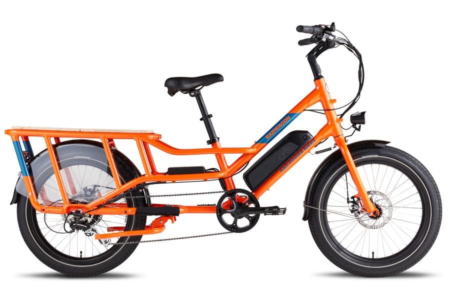 RadWagon4 Rad Power Bikes Main Orange Frame