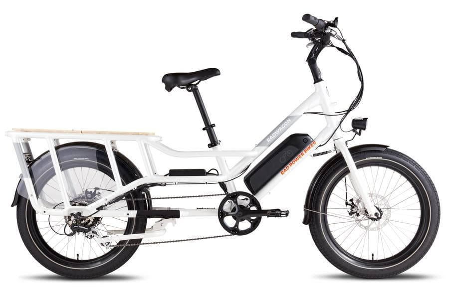 RadWagon4 Rad Power Bikes Main White Frame