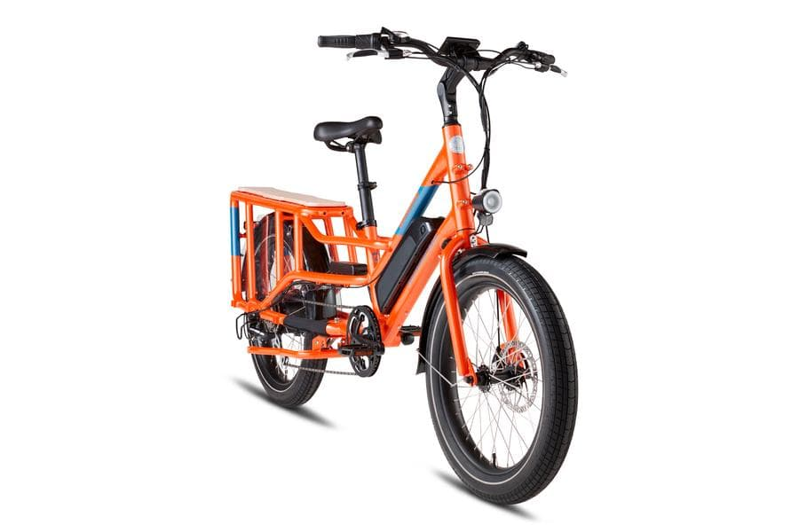 RadWagon4 Rad Power Bikes Side Orange Frame