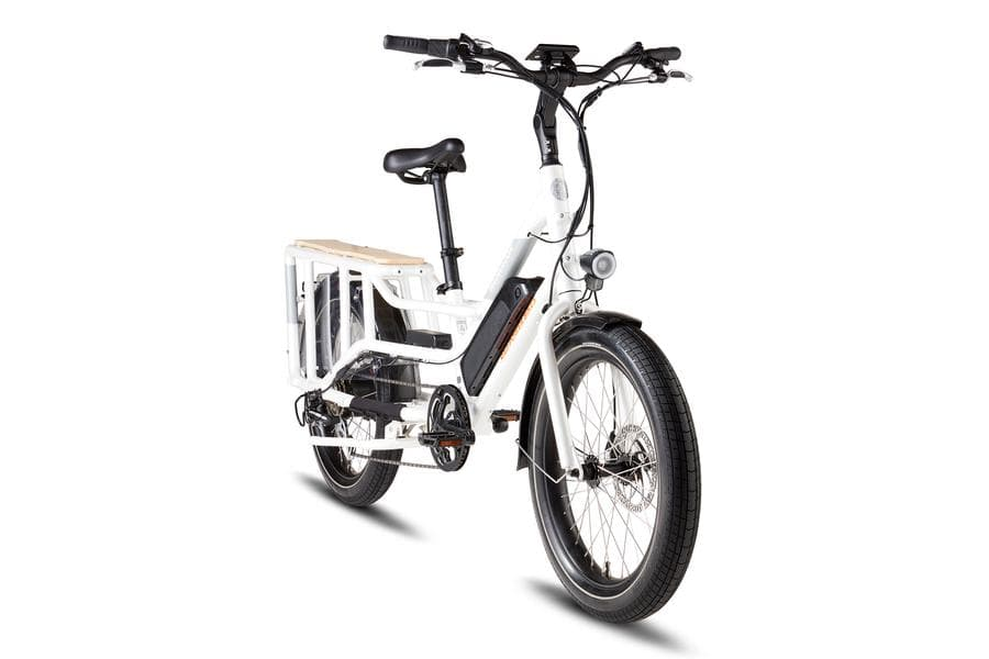 RadWagon4 Rad Power Bikes Side White Frame