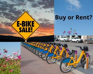should you rent or buy an electric bike?